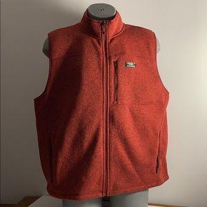 Burnt Orange L.L. Bean Vest Men's XXL